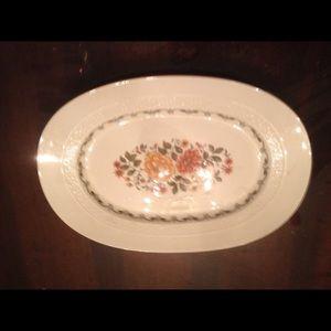 Antique Platter from Italy. Monopoli.